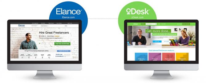 Elance vs oDesk