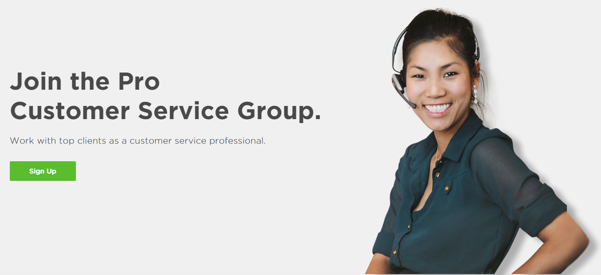 Upwork Pro Customer Service Group