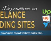 How to Reduce Over Dependence on Freelance Bidding Sites