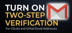How to Turn on Gmail two-step verification