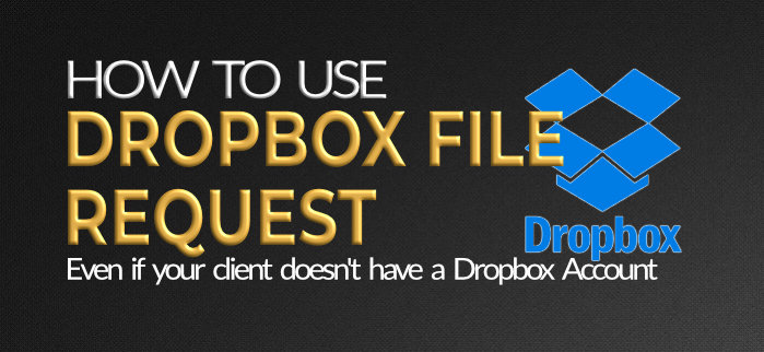 How to use Dropbox file request 2