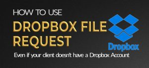 How to use Dropbox file request