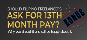 Should freelancers ask for 13th Month pay