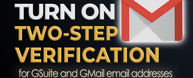 How to turn on two step verification