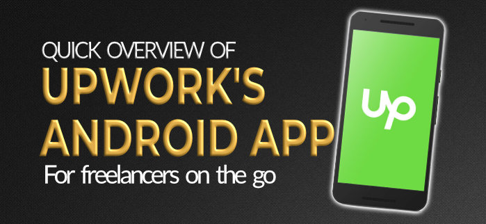 Upwork Android app review